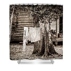 Hangin' Out Shower Curtain