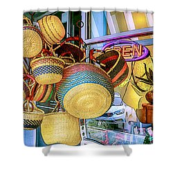 Hanging Baskets Shower Curtain