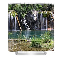 Hanging Lake Shower Curtain by Eric Glaser
