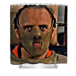 Hannibal Lecter Shower Curtain