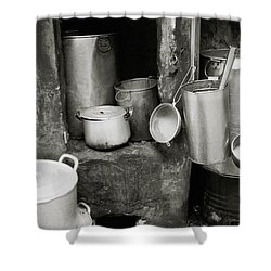 Hanoi Old City Shower Curtain