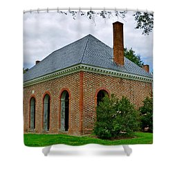 Hanover County Courthouse Shower Curtain