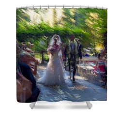 Shower Curtain featuring the photograph Happily Ever After by Alex Lapidus