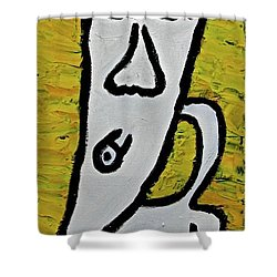 Happiness 12-003 Shower Curtain by Mario Perron