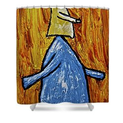Happiness 12-004 Shower Curtain by Mario Perron
