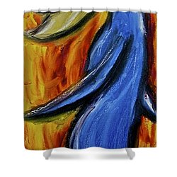 Happiness 12-005 Shower Curtain by Mario Perron