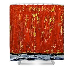 Happiness 12-007 Shower Curtain by Mario Perron