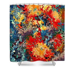 Happiness By Rafi Talby Shower Curtain by Rafi Talby