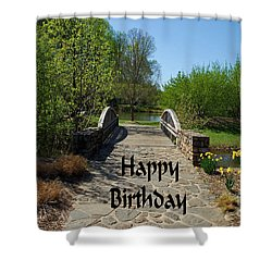 Shower Curtain featuring the photograph Happy Birthday by Bob Sample