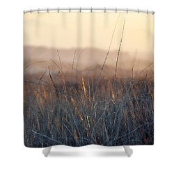 Shower Curtain featuring the photograph Happy Camp Canyon Magic Hour by Kyle Hanson