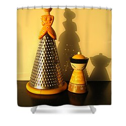 Happy Couple Shower Curtain