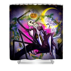 Happy Halloween II Shower Curtain