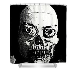 Happy Halloween Shower Curtain by John Malone