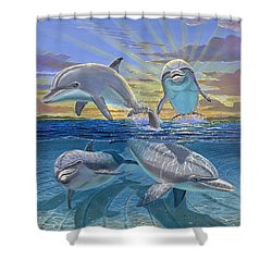 Happy Hour Re003 Shower Curtain