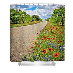 Happy Road Shower Curtain