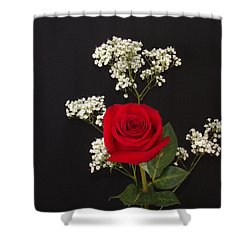 Happy Rose Shower Curtain