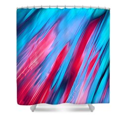 Happy Together Left Side Shower Curtain by Dazzle Zazz