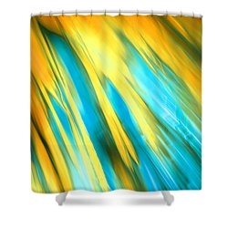 Happy Together Right Side Shower Curtain by Dazzle Zazz
