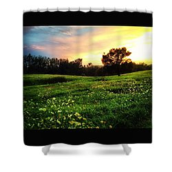 Happy Valley Shower Curtain