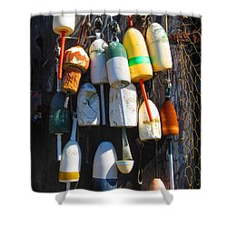 Harbor Art Shower Curtain