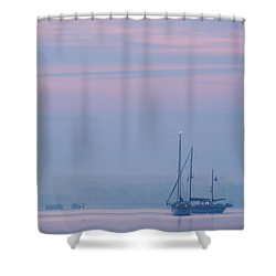 Harbor Before Dawn Shower Curtain
