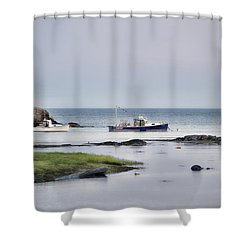 Harbor De Grace Shower Curtain