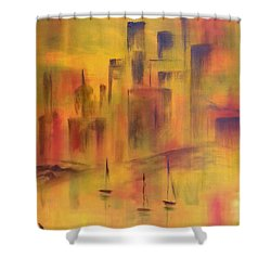 Harbor Sail Shower Curtain