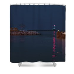 Harborside Icons Shower Curtain