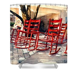 Harbourtown Rockers Shower Curtain