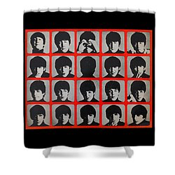 Hard Days Night Shower Curtain