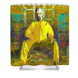 Shower Curtain featuring the digital art Hard Work by Brian Reaves