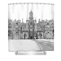Harlaxton Manor Shower Curtain by Tiffany Erdman