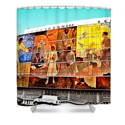 Harlem Hospital Mural Shower Curtain