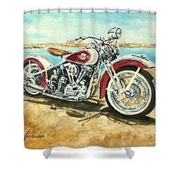 Harley Davidson 1960 Shower Curtain
