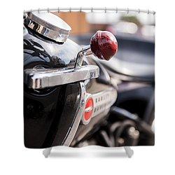 Harley Davidson Jockey Shift Shower Curtain