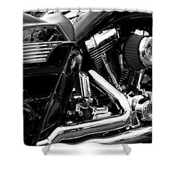 Harley Shower Curtain by Michelle Calkins