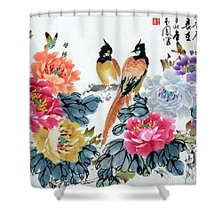 Harmony And Lasting Spring Shower Curtain