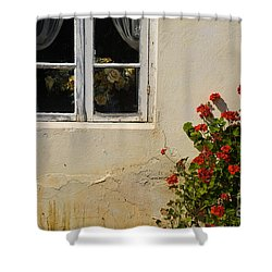 Flower Talk Shower Curtain