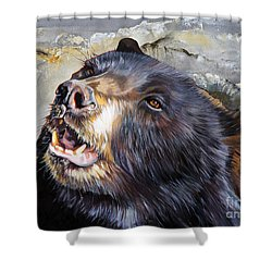 Harmony Shower Curtain by J W Baker