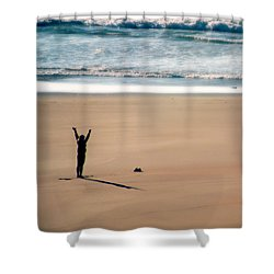 Shower Curtain featuring the photograph Harmony  by Micki Findlay
