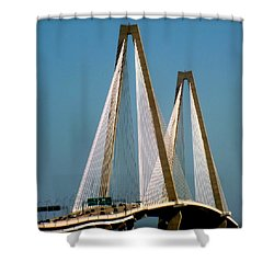 Harmony Of Charleston Shower Curtain by Karen Wiles