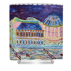 Harmony Of Night Shower Curtain