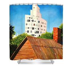 Harmony Of Old And New  Shower Curtain