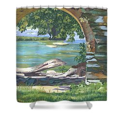 Harper's Arch Shower Curtain