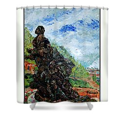 Harriet Tubman-underground Railroad Shower Curtain by Keith OBrien Simms