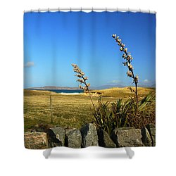 Harris Outer Hebrides Shower Curtain by The Creative Minds Art and Photography