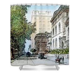 Harrison Residence East Rittenhouse Square Philadelphia C 1890 Shower Curtain