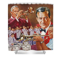 Harry James Trumpet Giant Shower Curtain