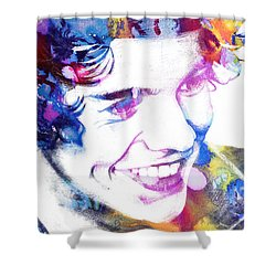 Harry Styles - One Direction Shower Curtain