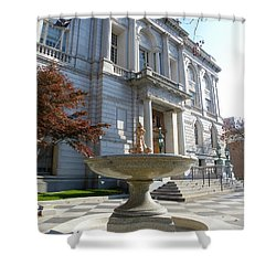 Hartford Historical Building Shower Curtain
